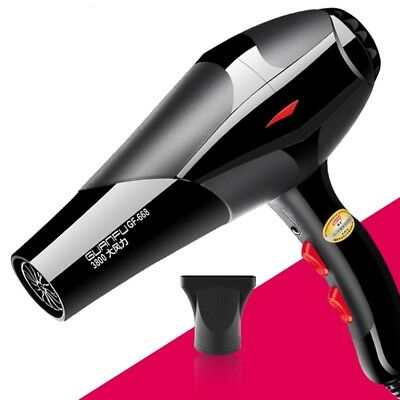 2400W Professional Hair Dryer Hairdressing Salon Styler Low Noise Blower+ Nozzle