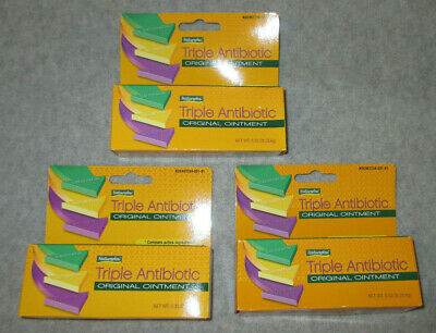 LOT OF 3 - NaturePlex TRIPLE ANTIBIOTIC Ointment Gel 0 33 oz Kids Scrapes  Burns