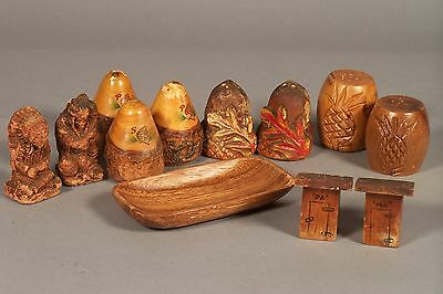 Salt and Pepper Shaker Collection from the 1950's
