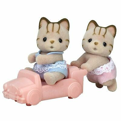 Sylvanian Families TABBY CAT TWINS Epoch Calico Critters