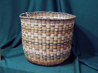 Hopi Polychrome Woven Basket - Beautiful!