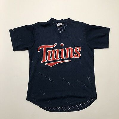 3bfb2149d2a Vintage Majestic Minnesota Twins Baseball Jersey  22 Blue Size XL Made USA