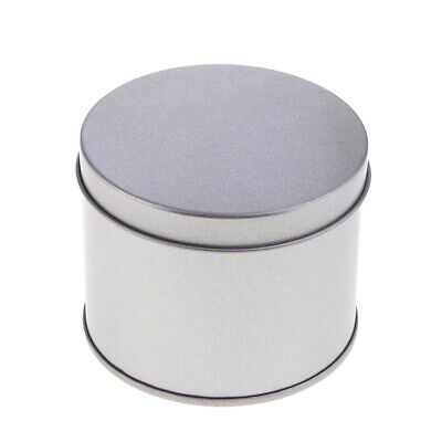 Empty Round Tins Aluminium for Lip Balm Crafts Cosmetics Candles Storage Box