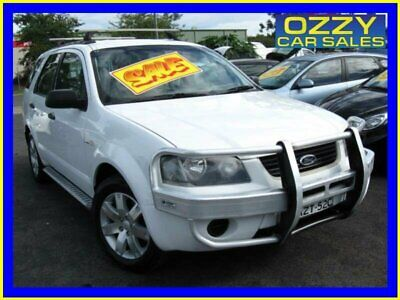 2006 Ford Territory SY SR (4x4) White Automatic 6sp A Wagon