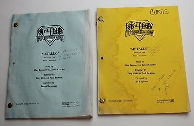 Lois & Clark * 2x 1994 Superman TV Scripts * Season 2, Episode 10 * WATER STAINS