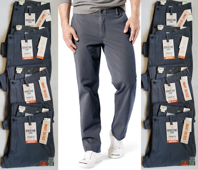 the cheapest discount collection detailed pictures MENS DOCKERS STRAIGHT Fit Downtime Khaki Pants Blue Smart 360 Flex 476980003