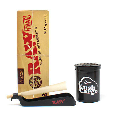 RAW 98 Special Pre Rolled Cones with RAW Catcher