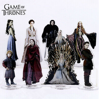 Game of Thrones Acrylic Model Stand Figure Toy Desk Decor Cosplay Toy Fans Gift