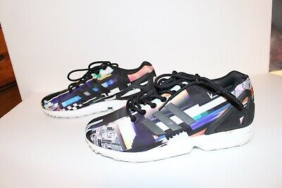 d7f75ed03 ADIDAS ZX FLUX M19844 Size 8 Photo Print Digi Original Boost Run ...