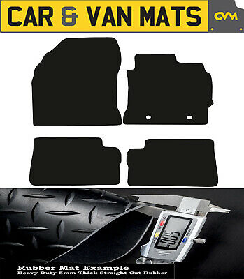 TOYOTA AURIS 2007-2013 BOOT MAT FULLY TAILORED CLASSIC WITH CUT OUTT BLACK