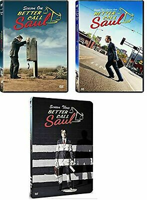 Better Call Saul Seasons 1-3 DVD New/Sealed Free Postage