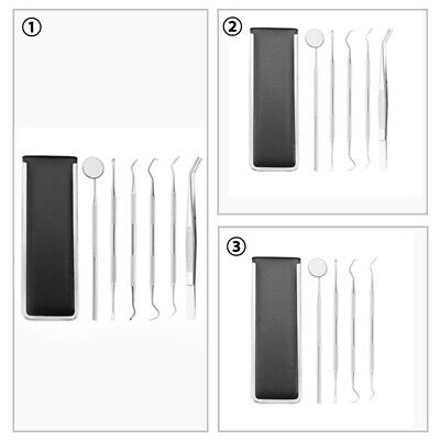 4pc/5pc/6pc Tooth Protection Tool Dentist Tool Hygiene Cleaning Tooth Dental Kit