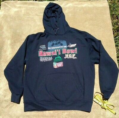 sports shoes 83088 5dae2 UCF Golden Knights Hoodie - 2005 Hawaii Bowl vs Nevada - First Bowl Game! -