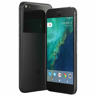 Google Pixel 128GB Verizon + GSM Unlocked 4G LTE Smartphone - Black