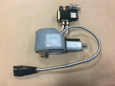 Nordson Automatic Single Adhesive Applicator with heat shie