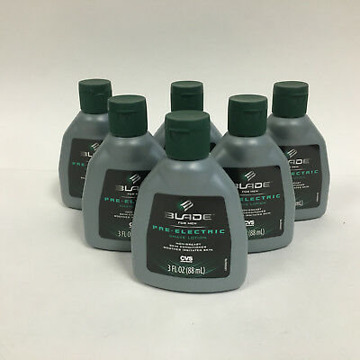 6 Blade Pre Electric Shave Lotion By Cvs 6 X 3oz Each 35 00