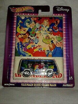 Hot Wheels Alice In Wonderland Disney Volkswagon Deluxe  Station Wagon 2019 New