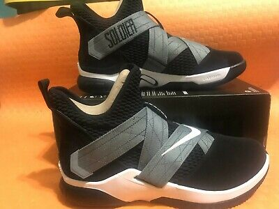 size 40 19f89 bae61 NEW NIKE MENS Lebron Soldier XII SFG Shoes AO4054-004 size 13us