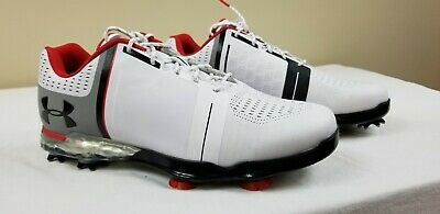 cb6ad4d6d53cd2 UNDER ARMOUR 2018 Mens Spieth 2 Golf Shoes Size 11.5 E Width White ...