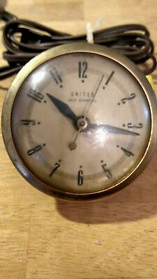 united Electric Clock Movement.. Parts Only
