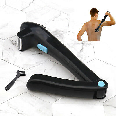 Electric Back Shaver For Men Body Groomer Hair Removal Razor Long Handle