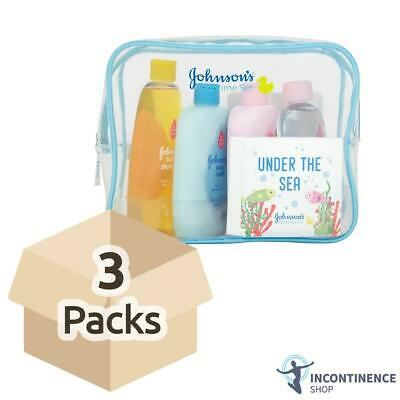 Johnsons Baby Bathtime Set - Case - 3 Sets