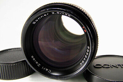 CONTAX Carl Zeiss Sonnar T* 135mm f/2.8 AEJ For C/Y mount [Excellent+] Japan