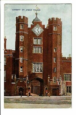 CPA - Carte postale-Royaume Uni - London- Clock Tower-St James Palace-1920- VM17