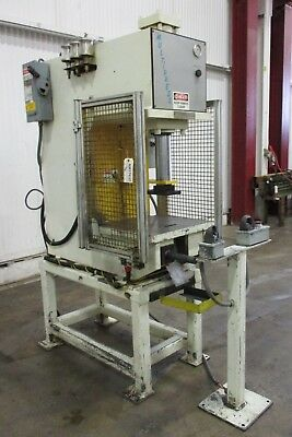 Denison Multi-Press C-Frame 20-Ton Hydraulic Press - Used - AM17637