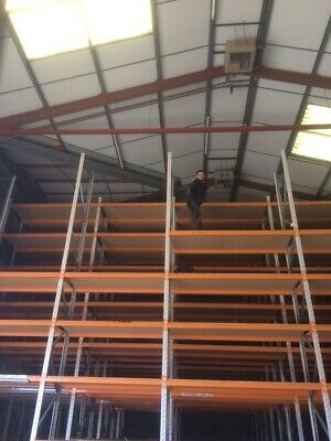 Pallet Racking 7.7 M High By 900 Wide Dexion Speedlock & Other Makes Available