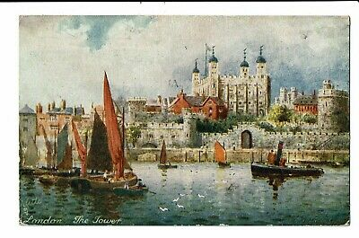 CPA - Carte postale-Royaume Uni- London The Tower-1920 VM1765