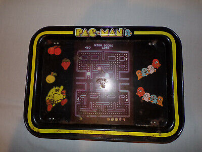 Vintage Pac Man Tv Tray Midway