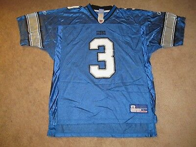 985c713894f L YOUTH REEBOK Joey Harrington Detroit Lions NFL Football Jersey ...