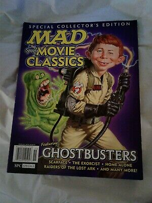 Mad Magazine Spoofs Movie Classics 2015 Special Collector's Edition Ghostbusters