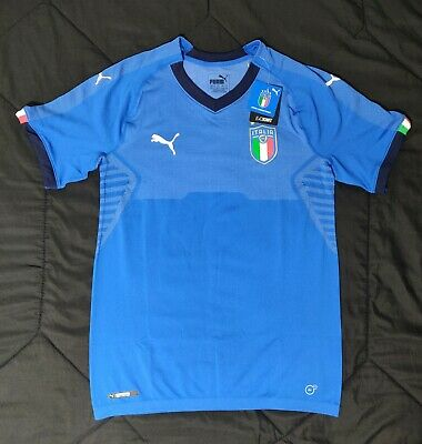 e244995bad5 Puma Italy Men's Home Jersey Authentic Player Issue Shirt 752279-01 Size XXL