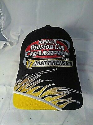 ad1dd82bac550 MATT KENSETH NASCAR DeWalt Racing Cap Hat Adjustable Winston Cup ...