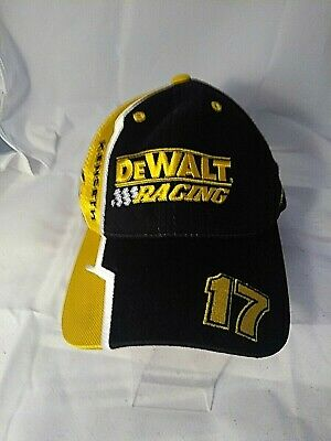 d186ac36b5298 Matt Kenseth NASCAR DeWalt roush Racing Checkered Flag Sports Cap Hat  Adjustable