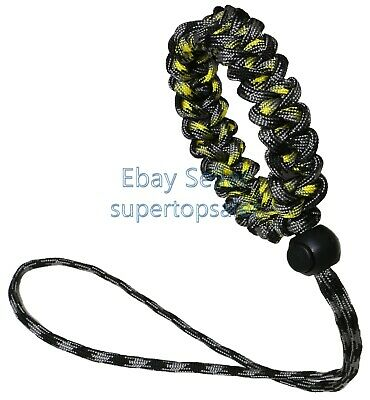 Universal Camera Adjustable Wrist Lanyard Strap Grip Weave Cord For 550 Paracord