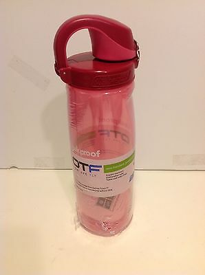 9762bf3ebc Nalgene On The Fly OTF Tritan Water Bottle Pink with Pink/Rose Cap New In