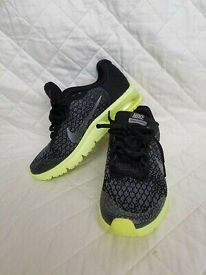 daa3d232f1 NIKE AIR MAX Sequent 2 (GS) 869993 008 Trainers Size 4Y - $30.00 ...