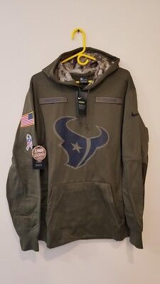 differently 97a28 047d5 NIKE NFL HOUSTON Texans Salute to Service On Field Therma ...