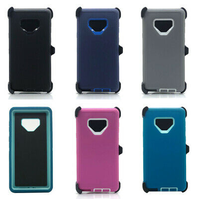 Lot/6 Protective Defender Case W/ Clip for Samsung Galaxy Note 9 Wholesale