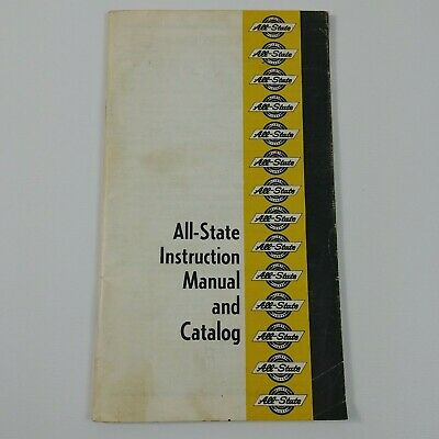 Welders All-State Instruction Manual and Catalog ARC Product Chicago Illinois #2
