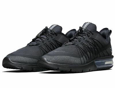 b7ca262b3f4 Nike Air Max Sequent 4 Shield Running Shoes Black Anthracite AV3236-002  Men s