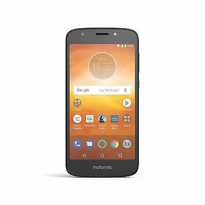 Moto XT1921-2 E5 Play 16 GB Unlocked AT and T/T-Mobile Black Prime Exclusive