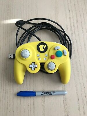Nintendo Switch PDP Pikachu Controller Wired Fight Pad Pro Super Smash Bros