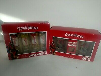 Captain Morgan Shot Glasses Drinking Glasses Sets