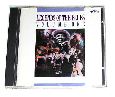 CD: Various - Legends Of The Blues: Vol. 1 (1990, Columbia) CK 42615 Volume One