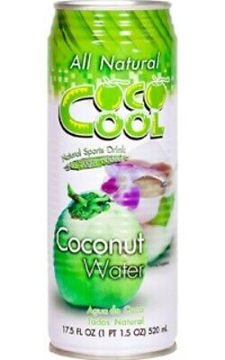 All Natural Coco Cool Coconut Water 520 ml 24 units in a box