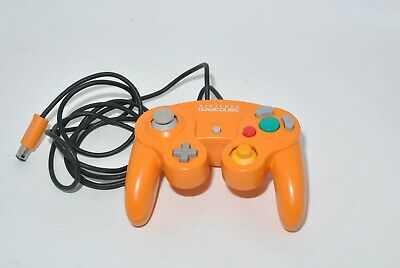 Official Nintendo GameCube Controller Pad Orange from Japan